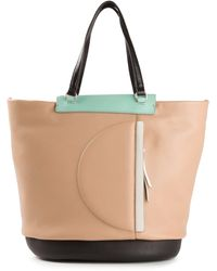 Marc By Marc Jacobs Round The Way Girl Colorblocked Tote - Lyst