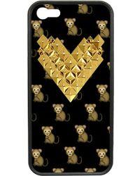 Wildflower - 'monkemoji Gold Studded Heart' Iphone 5 & 5s Case - Lyst