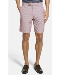 Ted Baker Men'S 'Ronica' Check Shorts - Lyst