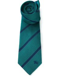 Burberry London Striped Tie - Lyst