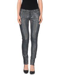 Balmain Denim Trousers gray - Lyst