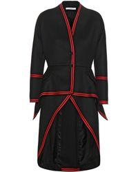 Givenchy - Wool-blend Crêpe Coat - Lyst