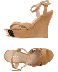 Lola Cruz Beige Sandals - Lyst