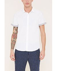 Forever 21 - Cotton-blend Shirt - Lyst