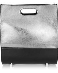Alexander Wang - Chastity Metallic Leather Tote - Lyst