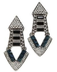 Lulu Frost Emergence Earrings Clear Multi - Lyst