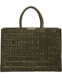Tomasini Paris - Square-detailed Tote - Lyst