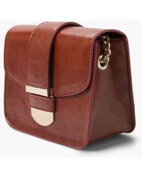 Mango - Small Flap Across Body Bag - Lyst