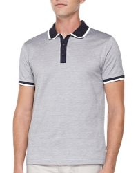 Hugo Boss Dress Jacquard Polo - Lyst