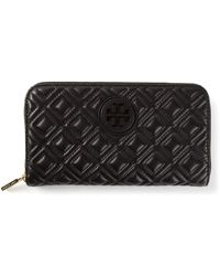 Tory Burch Black Marion Purse - Lyst