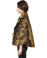 Temperley London Wool Blend Jacquard Jacket - Lyst