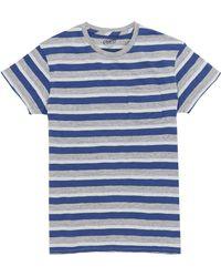 Grayers - Deck Stripe Slub Jersey T-shirt - Lyst
