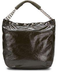 Furla Patent-Leather Hobo Bag - Lyst