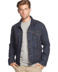 Levi's Relaxed Trucker Harrington Jacket - Lyst