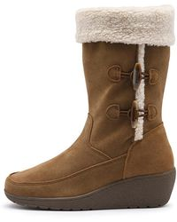 G.H. Bass & Co. Vada Toggle Boot - Lyst