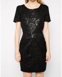 Darling Black Christie Dress - Lyst