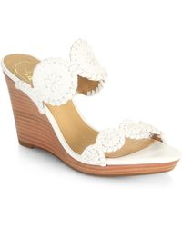 Jack Rogers Luccia Wedge Sandals - Lyst