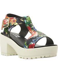 Steve Madden Stefano T-Bar Heeled Sandals - For Women - Lyst
