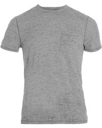 John Varvatos Burnout Tee - Lyst