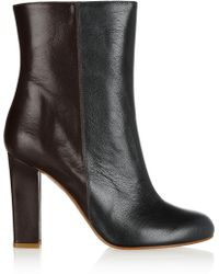 M Missoni Colorblock Leather Boots - Lyst