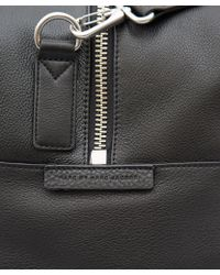 Marc By Marc Jacobs - Black Leather Weekender Bag - Lyst