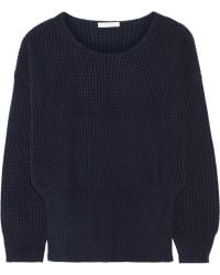 Chloé Ribbed Cashmere Sweater - Lyst