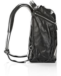 Alexander Wang Inside Out Backpack in Black with Rhodium - Lyst