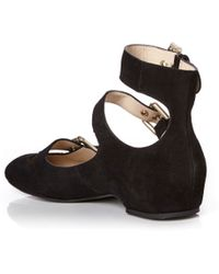 See By Chloé | Polly Suede Flat | Lyst
