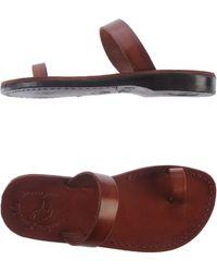 Jerusalem Sandals - Thong Sandal - Lyst