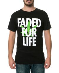 Alife The Faded For Life Tee - Lyst