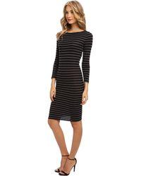 BCBGMAXAZRIA Briza Striped Dress - Lyst