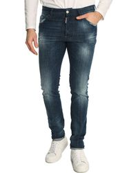 DSquared² Faded Blue Cool Guy Jeans - Lyst