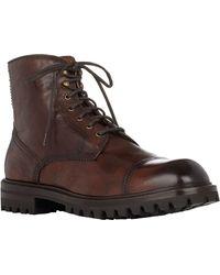 Elia Maurizi Burnished Cap-toe Boots - Lyst