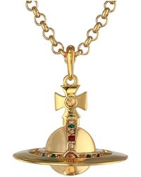 Vivienne Westwood Small Orb Pendant New - Lyst