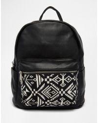 prada light purple wallet - Prada Soft Calf One-pocket Backpack in Black (NERO-BLACK) | Lyst