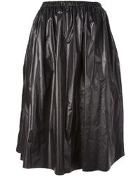 Christopher Kane Pleated Midi Skirt - Lyst