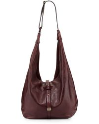 Halston Heritage City Casual Leather Hobo Bag - Lyst