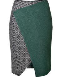 Prabal Gurung Angular Skirt - Lyst