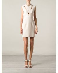 Emanuel Ungaro Fitted Strappy Dress - Lyst