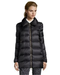 Moncler Black Box Quilted Torcy Down Coat - Lyst
