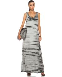 Enza Costa Challis Rayon Maxi Dress - Lyst
