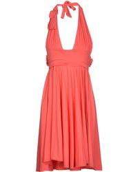Sportmax Short Dress - Lyst