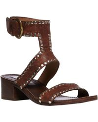Steve Madden Praisse Studded Leather Sandals - Lyst