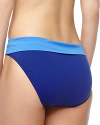 Tommy Bahama Deck Piping Foldover Hipster Swim Bottom - Lyst