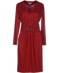 Paule Ka Knee-Length Dress - Lyst
