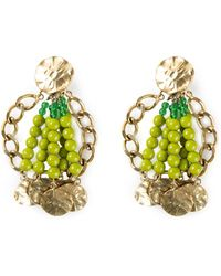 Yves Saint Laurent Vintage Oversized Earrings - Lyst