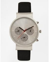 Asos Watch with Three Dials - Lyst