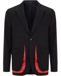 Alexander McQueen Contrast Flash Blazer - Lyst