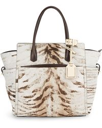 Reed Krakoff Atls Calf Hair Expandable Tote - Lyst