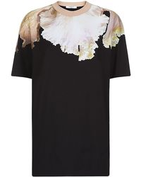 Givenchy Orchid Print Tshirt - Lyst